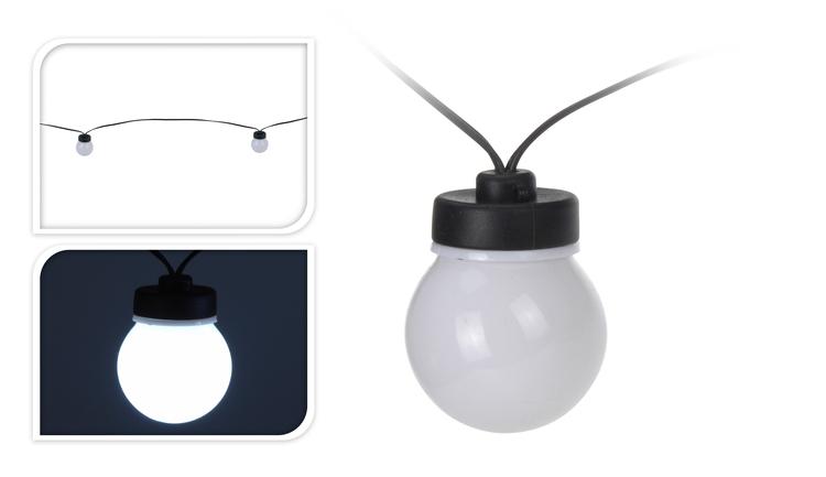 Feestverlichting Wit 20 Lampen kopen