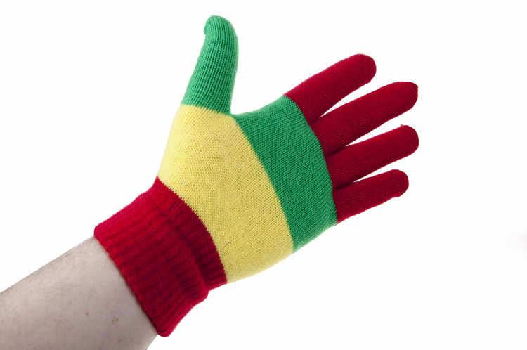 Handschoen carnaval met vingers kopen