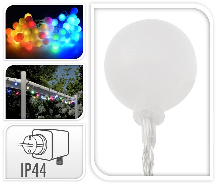 Ledverlichting 80 LED Multicolor kopen