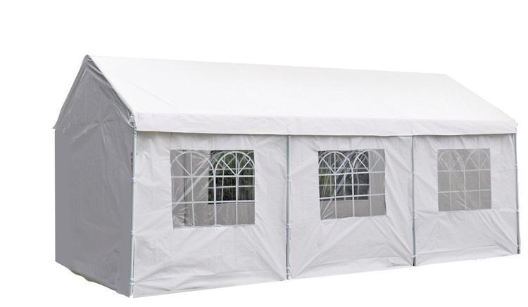 Pure Garden & Living partytent met zijwanden 3x6 meter deluxe wit kopen