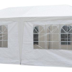 Pure Garden & Living partytent met zijwanden 3x6 meter wit kopen