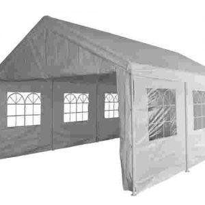 Pure Garden & Living partytent met zijwanden 4x6 meter wit kopen