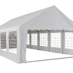 Pure Garden & Living partytent met zijwanden 5x8 meter wit kopen